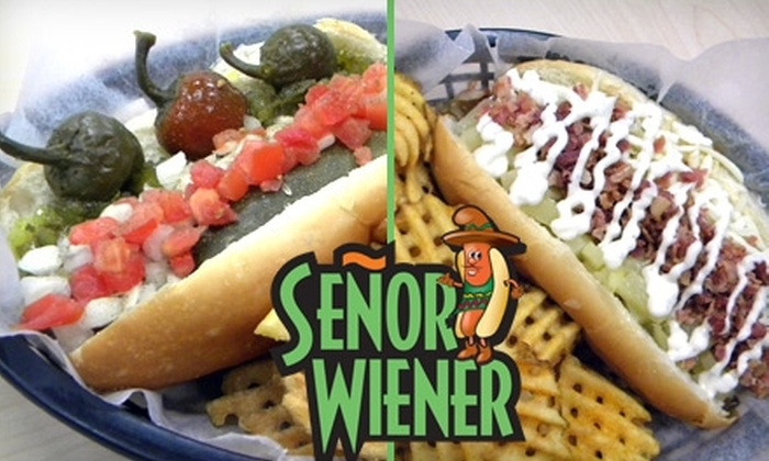 Señor Wiener - Sioux Falls: $5 for $10 Worth of Specialty Wieners and Thirst-Quenching Drinks at Señor Wiener