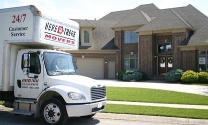 image for $92 for $200 Worth of Moving Services from Here To There <strong>Movers</strong>