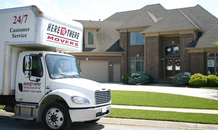 Here To There Movers - At Home Service: $92 for $200 Value Towards Moving Services from Here To There Movers