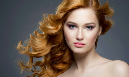 Haircut or Highlights or Sew-In Hair Extensions at Fleurish Salon (Up to 63% Off)