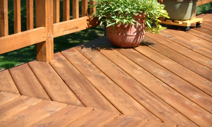 Royale Pressure Washing - Peace Haven: Cleaning and Sealing or Staining of Small, Medium, or Large Deck from Royale Pressure Washing (Up to 61% Off).