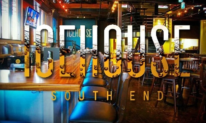 Icehouse - Dilworth: $10 for $20 Worth of Eclectic American Fare at Icehouse