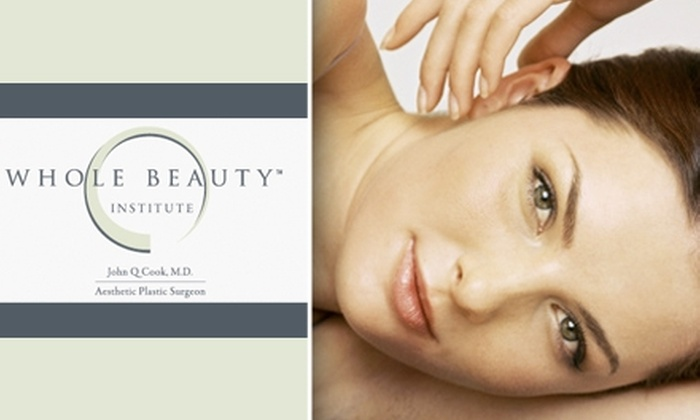 Whole Beauty Institute - Near North Side: $150 for 3 Hair Removal Treatments at Whole Beauty Institute