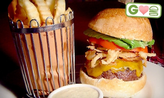 Butterfields Restaurant - Hauppauge: $5 for a Gourmet Burger, Fries, and Soda at Butterfields Restaurant in Hauppauge (Up to $10.95 Value)