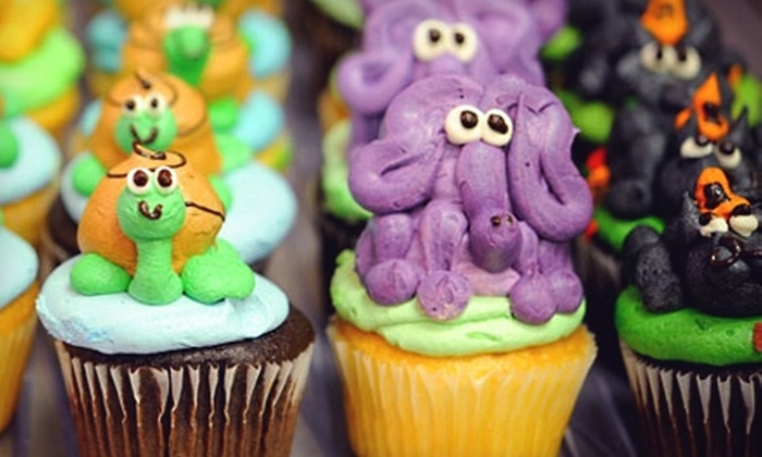 Cakes for Occasions - Danvers: $16 for Animal-Themed Cupcakes ($33 Value) or $12 for Gourmet Cupcakes ($24.75 Value) at Cakes for Occasions in Danvers