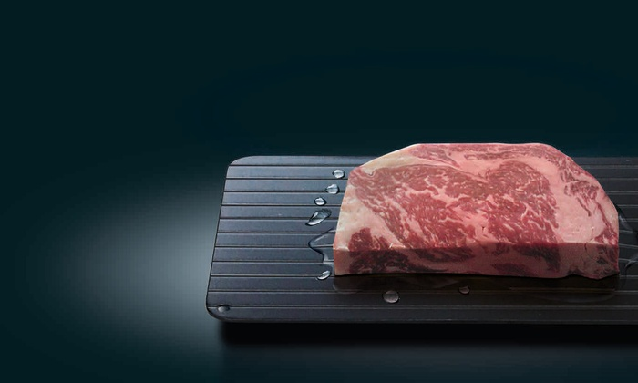 Miracle Thaw Defrosting Tray Groupon Goods