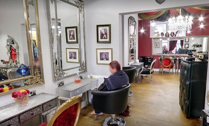 image for Wash, Cut and Blow-Dry with Conditioning Treatment, Colour or Highlights at Jekyll and Hyde Hairdressing (Up to 70% Off)