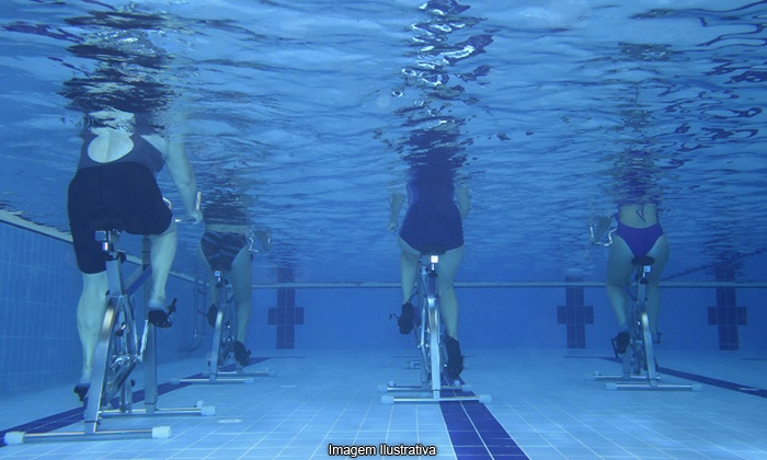 Aquabiking En Piscine Coach 233 Villa Venezia Spa Groupon