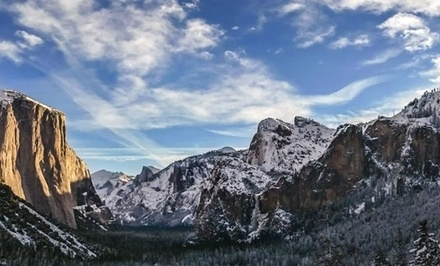 1- or 2-Night Stay for Up to Six with Bottle of Wine and Dessert at Hotel Charlotte near Yosemite, CA