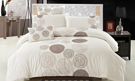 Season's Collection 100% Egyptian Cotton Duvet Cover Sets