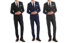 MDRN Uomo by Braveman Men's Slim-Fit Suit (2-Piece)