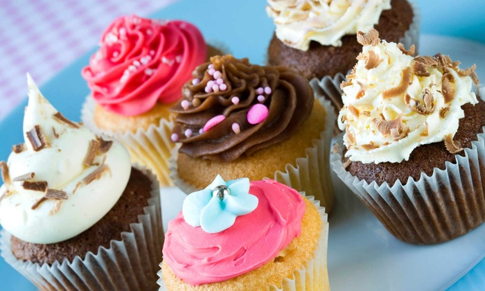 Naticakes - Historic South Hill: One Dozen Cupcakes, or $5 for $10 Worth of Sweet Treats and Frozen Yogurt at Naticakes