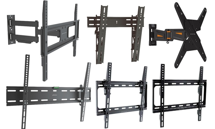 "GForce Fixed, Tilt, and Articulating TV Mounts for up to 100"" TVs"