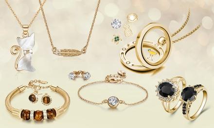 Sieraden versierd met Swarovski®kristallen van het merk Neverland Sales