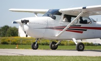 One-Hour Aviation Experience with a 25-Minute Flight and Refreshments at Peterborough Flying School