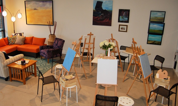 Vancouver Art Space - Vancouver Art Space: $18 for one painting session from Vancouver Art Space