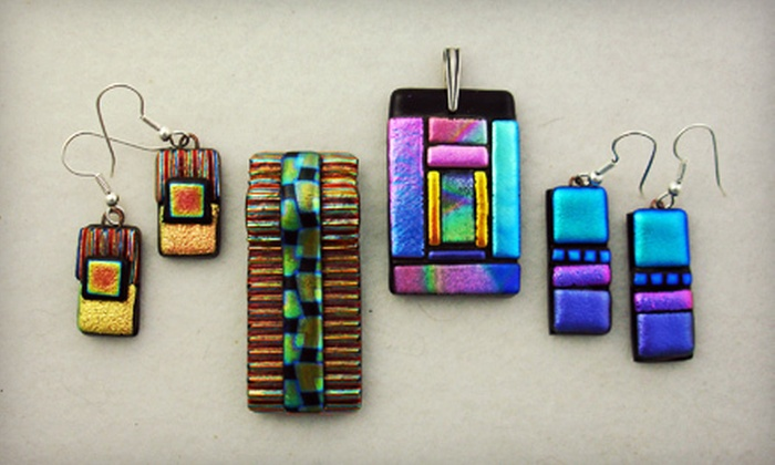 Edythe Glass Art - Rio Rancho: $59 for a Three-Hour Intro to Fused Glass and Dichroic Jewelry Class at Edythe Glass Art ($125 Value)