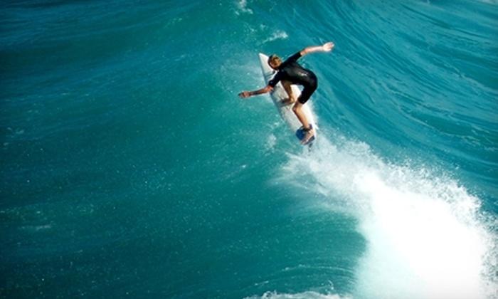 Malibu Surf Shack - Eastern Malibu: $59 for a 90-Minute Surfing Lesson at Malibu Surf Shack ($125 Value)