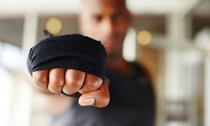 Rock Fit Training Center: 6, 12, or 18  Ninja Fitness Classes at Rock Fit Training Center (Up to 65% Off)