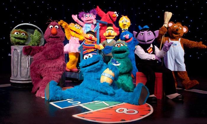 """Sesame Street Live: """"Make a New Friend"""" - Tilles Center: Sesame Street Live """"Make A New Friend"""" at Tilles Center on September 26–27 (Up to 30% Off)"""