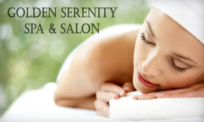 Golden Serenity Spa and Salon - Aurora: $42 for a Sugar Body Scrub or $40 for a 60-Minute Swedish Massage at Golden Serenity Spa and Salon in Aurora