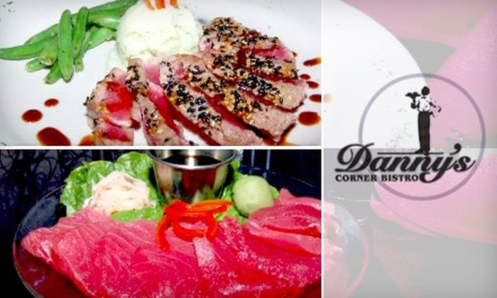 Danny's Corner Bistro - Woodland Park: $12 for $25 Worth of Upscale Fare and Drinks at Danny's Corner Bistro