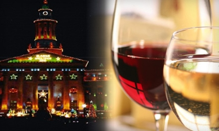5280 Wine Tour CO - Central Business District: $55 for a Holiday Lights Wine Tour from 5280 Wine Tour CO ($130 Value)