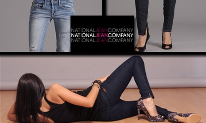 National Jean Company - Multiple Locations: $50 for $100 Worth of Designer Denim and Apparel at National Jean Company