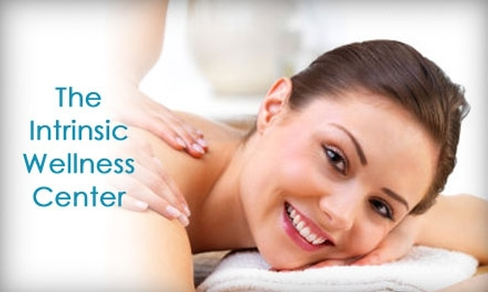The Intrinsic Wellness Center - Lewisville: $59 for a 30-Minute Swedish Massage and 60-Minute Infrared Body Wrap at The Intrinsic Wellness Center in Lewisville ($150 Value)