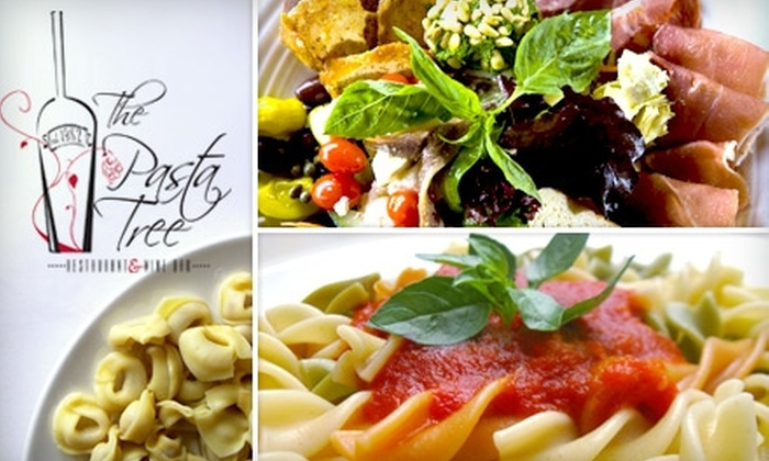 The Pasta Tree - Lower East Side: $40 Worth of Fresh Italian Cuisine at The Pasta Tree