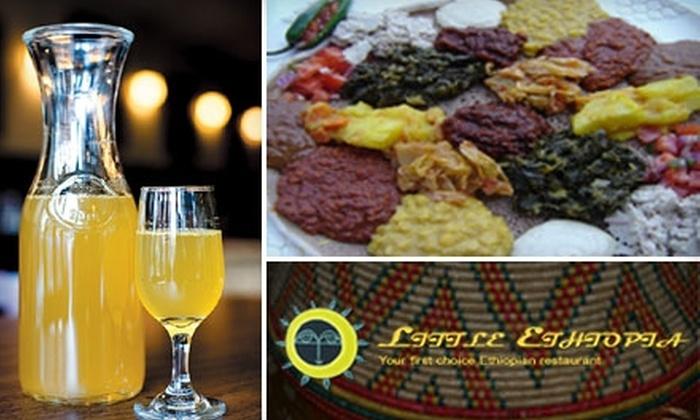 Little Ethiopia Restaurant - Mid-Wilshire: $9 for $20 Worth of Authentic Cuisine at Little Ethiopia Restaurant