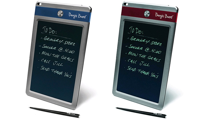 Boogie Board Jot LCD EWriter Groupon Goods Enchanting Boogie Board Memo