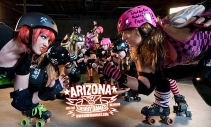 Arizona Derby Dames - Story: $6 for One General-Admission Stadium-Seat Ticket to the Arizona Derby Dames on February 19 ($12 Value)