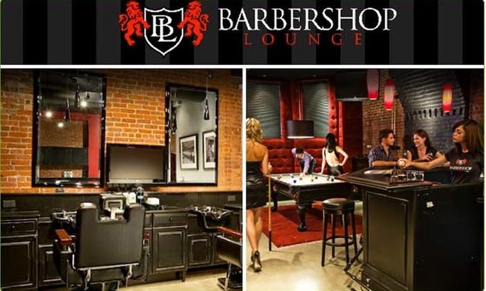 Barbershop Lounge - Back Bay: $25 for Men's Salon Package ($50 Value)