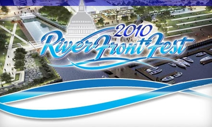 Inaugural RiverFrontFest - Navy Yard: $6 for One General-Admission Ticket to the Inaugural RiverFrontFest ($12 Value)