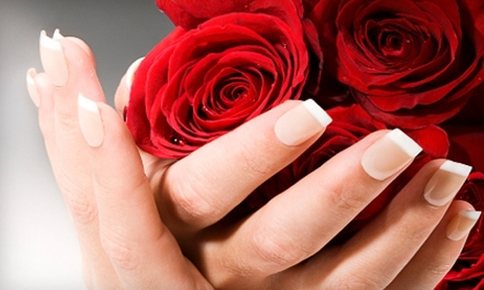 Celebrity Nails & Spa - Bossier City: $12 for a Full Set of Acrylic Nails ($25 Value) or $22 for a Haircut and Blow-Dry ($45 Value) at Celebrity Nails & Spa