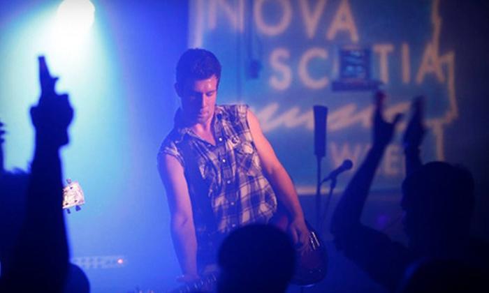 Molson Canadian Nova Scotia Music Week - Yarmouth: Entry to Music and Award Events During Molson Canadian Nova Scotia Music Week. Three Options Available.