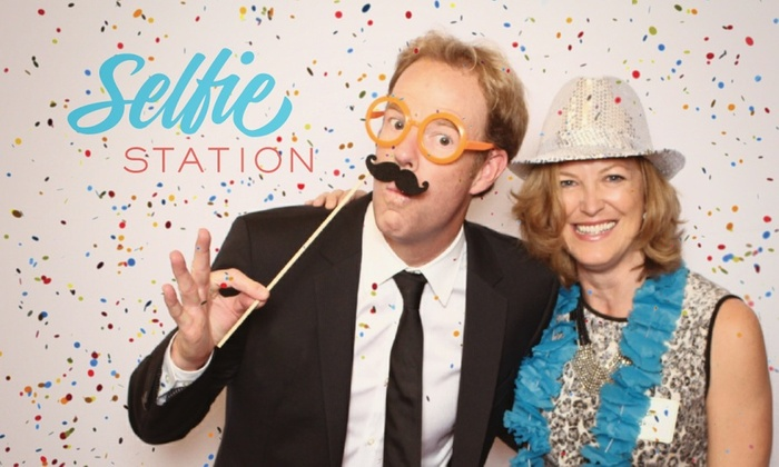 Selfie Station - San Diego: Up to 64% Off photo booth rental at Selfie Station