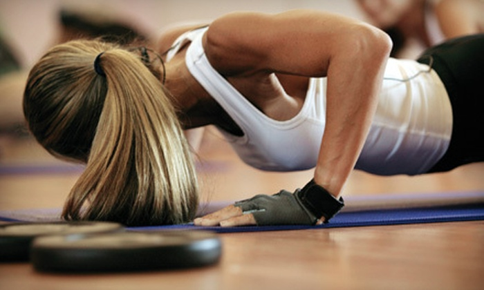 Rock Hard Boot Camp - Grand Rapids: $35 for Four Weeks of Unlimited Classes from Rock Hard Boot Camp (Up to $200 Value)