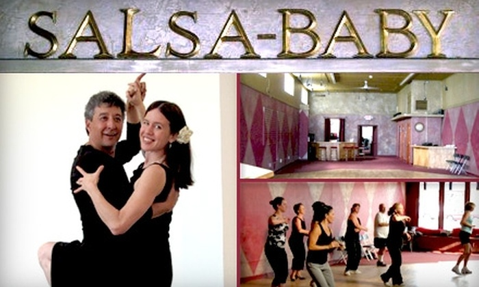 Salsa Baby - Nob Hill: $15 for Six Dance Fitness Classes at Salsa-Baby