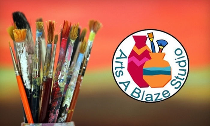 Arts A Blaze Studio - Lakewood Ranch: $15 for $30 Worth of Paint-Your-Own Pottery at Arts A Blaze Studio in Lakewood Ranch