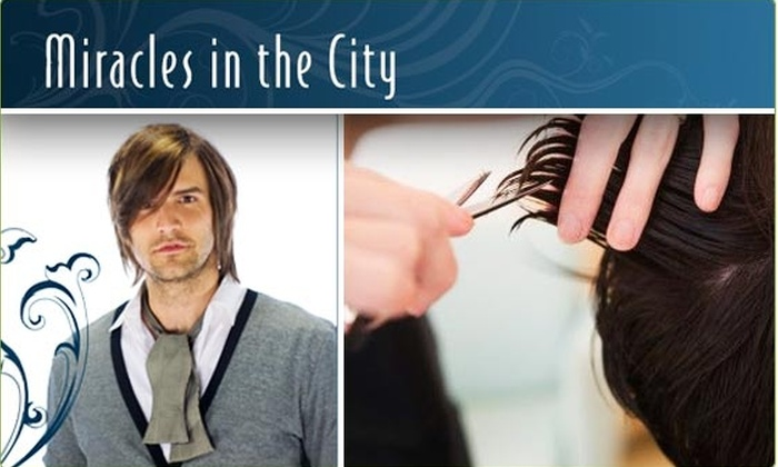 Miracles in the City - North Rosslyn: $25 for Men's Salon and Spa Treatments ($85 value)