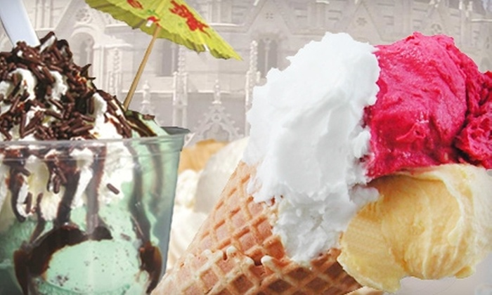 Gelato Café - The Strip: $5 for $10 Worth of Frozen Treats and More at Gelato Café