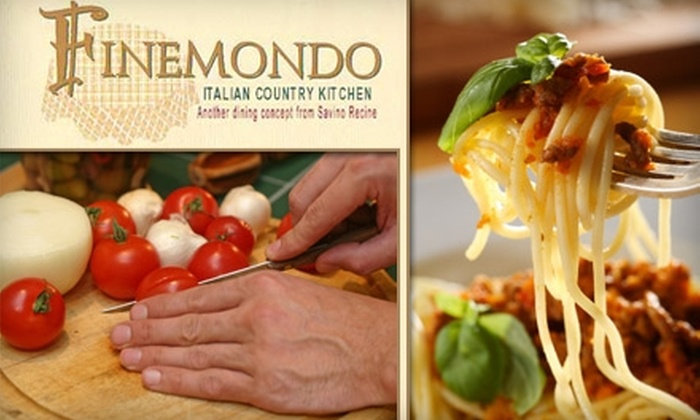 Finemondo - Downtown - Penn Quarter - Chinatown: $20 for $40 Worth of Italian Cuisine at Finemondo