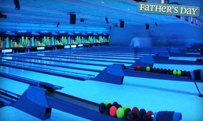 Dickson Bowl - Downtown Cambridge: $30 for Two Hours of Cosmic Bowling, Shoe Rental for Up to Six People, Pizza, and Pop at Dickson Bowl (Up to $99.68 Value)
