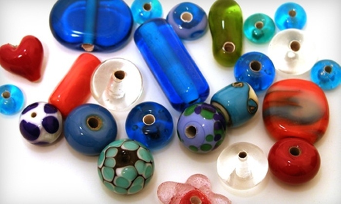 Aquila Glass School - Kenton: $54 for Intro to Bead-Making Class at Aquila Glass School