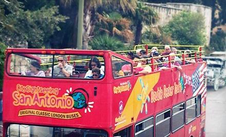 Double Decker Bus Tour for Two - City Sightseeing San Antonio in San Antonio