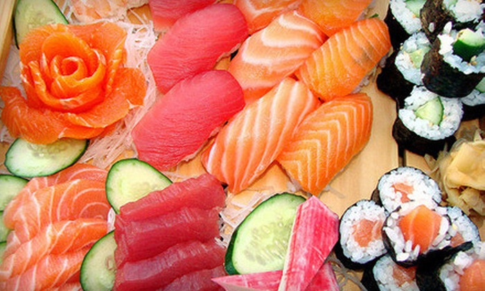 Mike's Sushi & Sake Bar - Palm Harbor: Sushi and Drinks on Weekend or Weekday at Mike's Sushi & Sake Bar in Palm Harbor