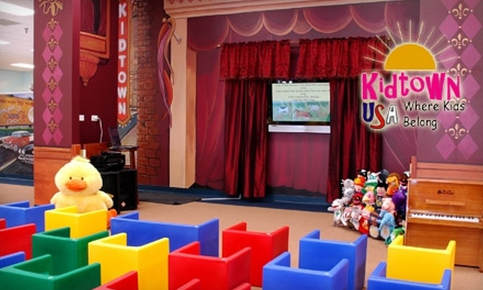 Kidtown USA - Schaumburg: $45 for Annual Membership and 10 Hours of Children's Programs at Kidtown USA in Schaumburg ($135 Value)