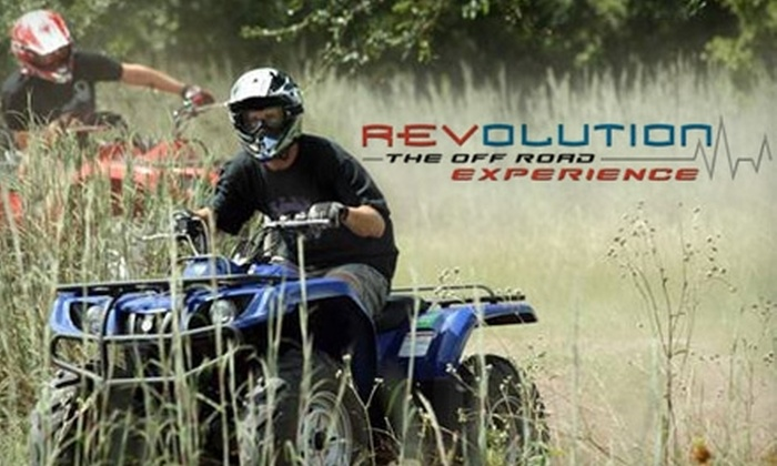 Revolution, The Off-Road Experience - Clermont: $89 for Two 80-Minute Guided ATV Adventures at Revolution, The Off-Road Experience in Clermont ($150 Value)